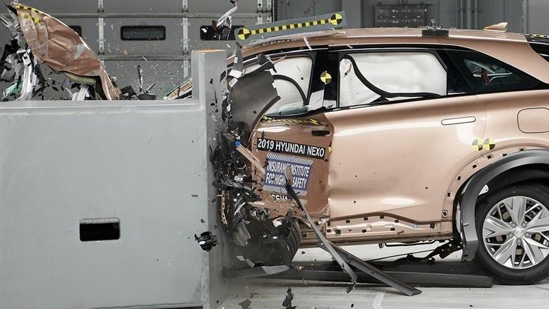 Hyundai Nexo 2019 obtiene el Top Safety Pick Plus (+) del IIHS