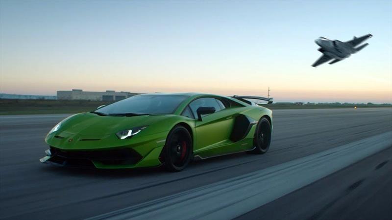Aventador SVJ, el Lamborghini más poderoso de la historia, demuestra su poder en la pista