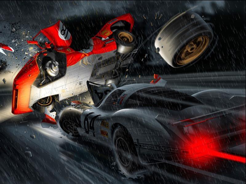 La película Le Mans es transformada en un cómic de culto