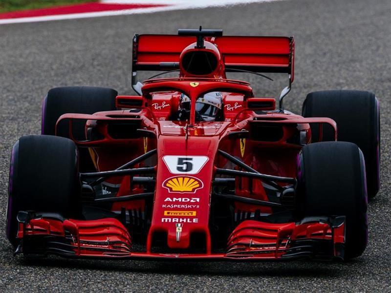 F1 GP de China 2018: Pole para Vettel y Ferrari