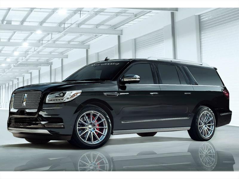 Hennessey Navigator 2018, este Lincoln va más allá del lujo