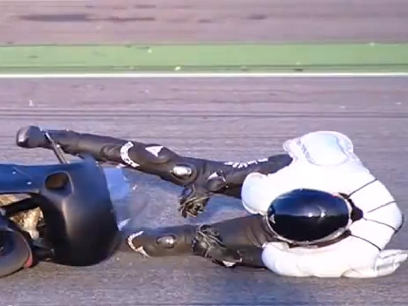 BMW crea traje para motociclistas con bolsas de aire