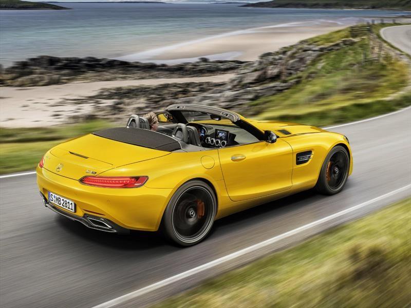 Mercedes-AMG GT S Roadster, un convertible con más de 520 hp
