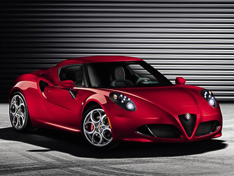 Alfa Romeo 4C de producción se presenta