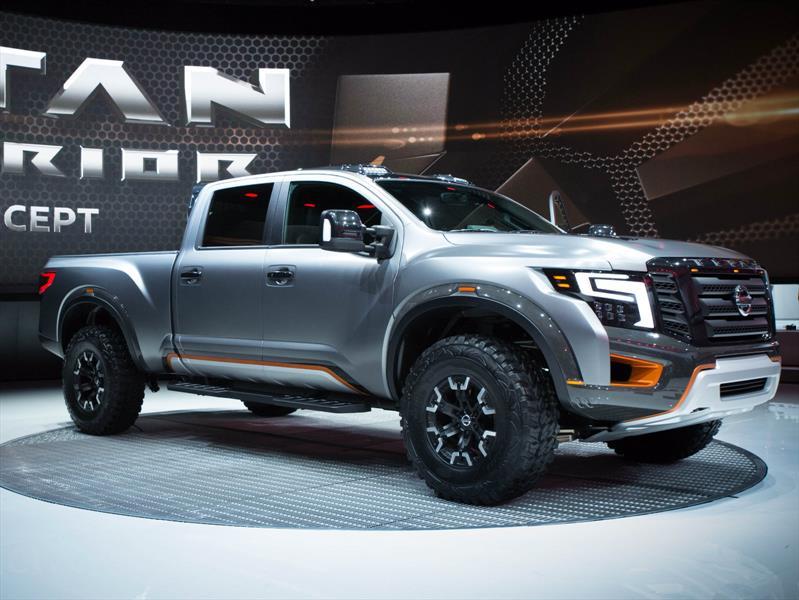 Nissan Titan Warrior Concept, un competidor para la Ford ...