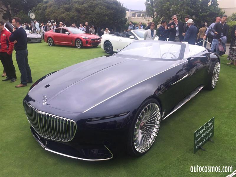 Vision Mercedes-Maybach 6 Cabriolet, un opulento y lujoso convertible