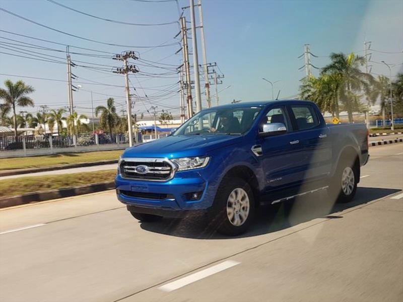 Así será el próximo restyling de la Ford Ranger
