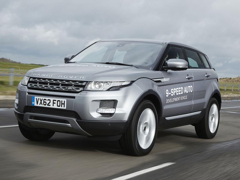 Land Rover estrena transmisión de 9 cambios