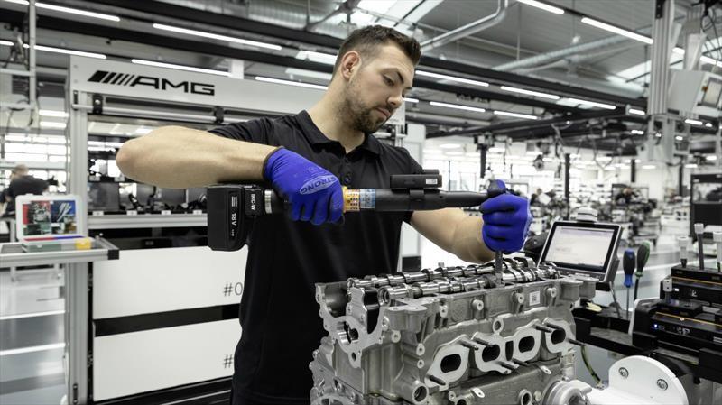 Mercedes-AMG desarrolla el motor cuatro cilindros más poderoso de la historia
