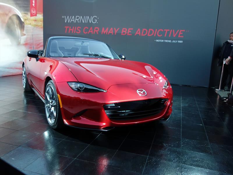 Nuevo Mazda MX-5 2016: 4ta generación ya es realidad