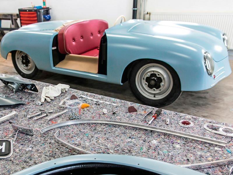 Porsche hace una copia del prototipo original del 356