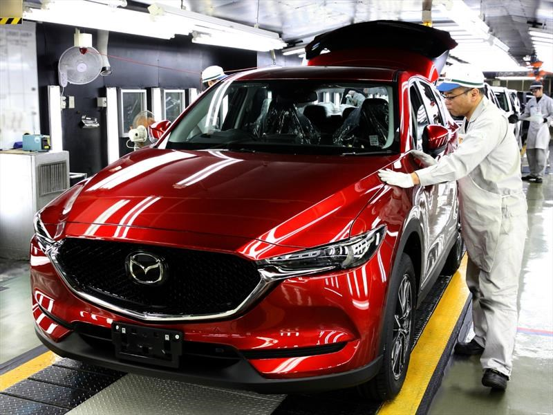 Mazda CX-5 2017 inicia producción