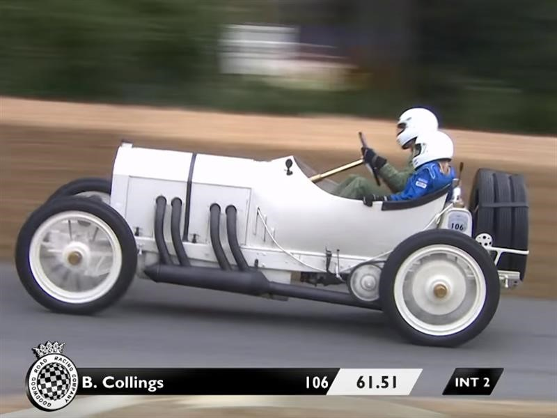 Mercedes Grand Prix 1908 conquista Goodwood 2018