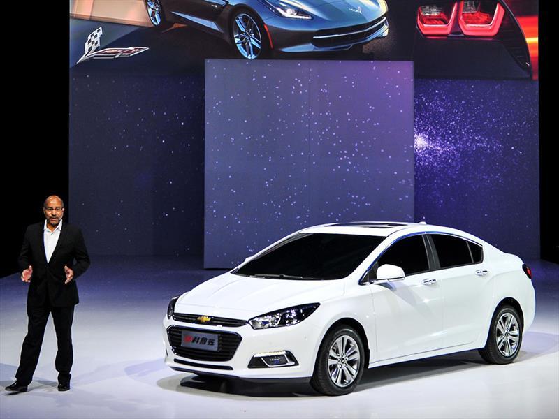 El próximo Chevrolet Cruze debuta en Beijing