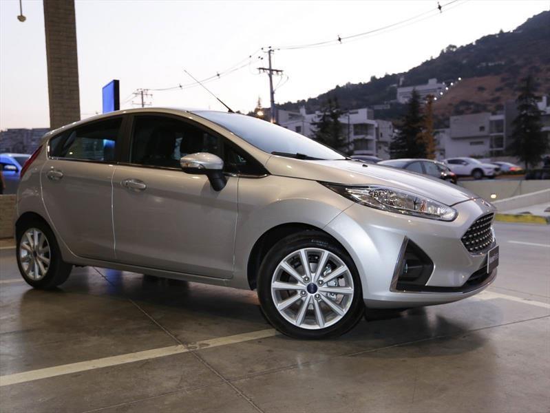Ford presenta en Chile el restyling del Fiesta 2018