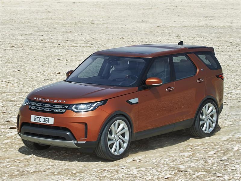 Land Rover Discovery 2017 es develado en París
