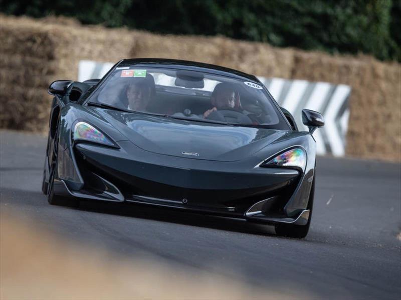 McLaren 600 LT debuta en el Goodwood Festival of Speed 2018