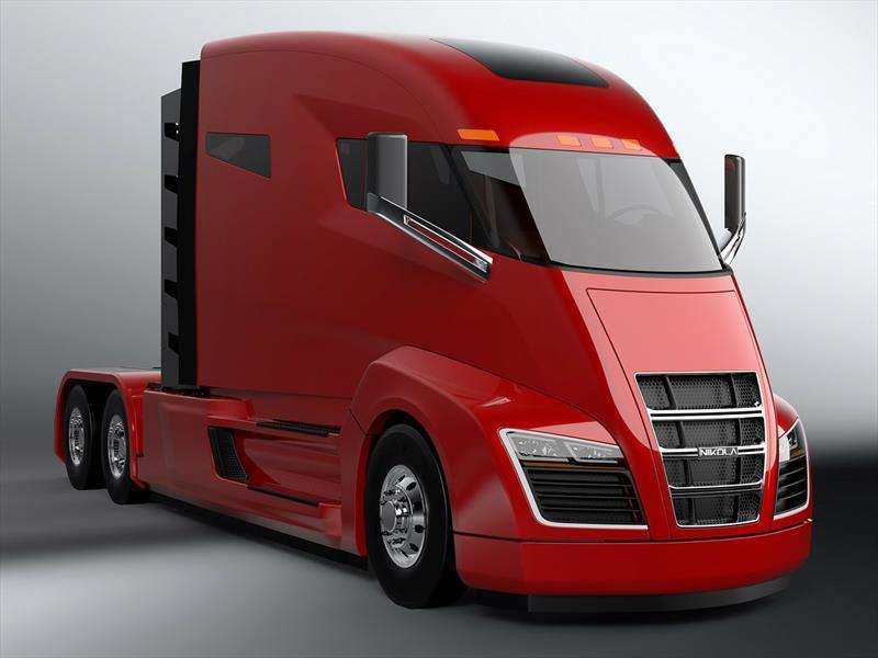 Nikola One es el camión eléctrico del futuro