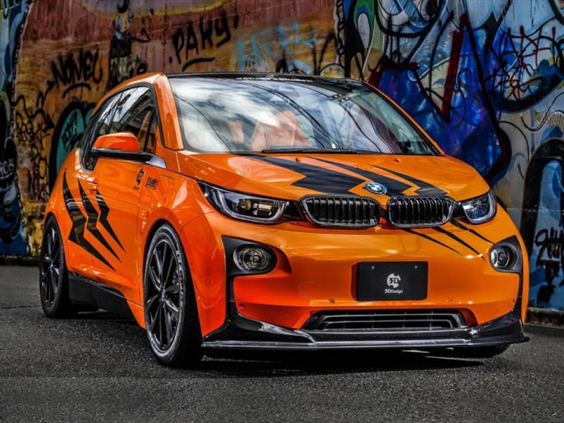 Descargar Fondos De Pantalla 4k Audi R8 Costa De 2017: BMW I3 Studie Japan Y 3D Design, La Naranja Eléctrica