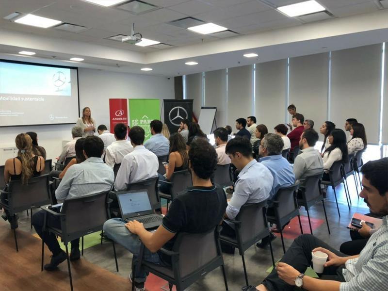 Mercedes-Benz suma a Andreani a su plataforma de carpooling en Argentina