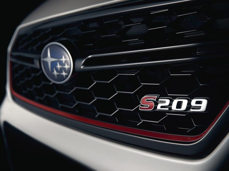 Subaru WRX STi S209 ¡listo para debutar en América!