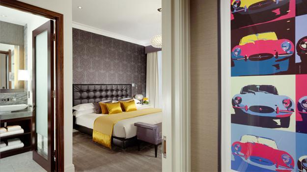 Jaguar Suite en Londres, una habitación de 8 mil dólares la noche