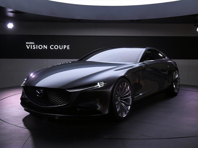 Mazda Vision Coupé gana el Auto Concepto Más Bello de 2018