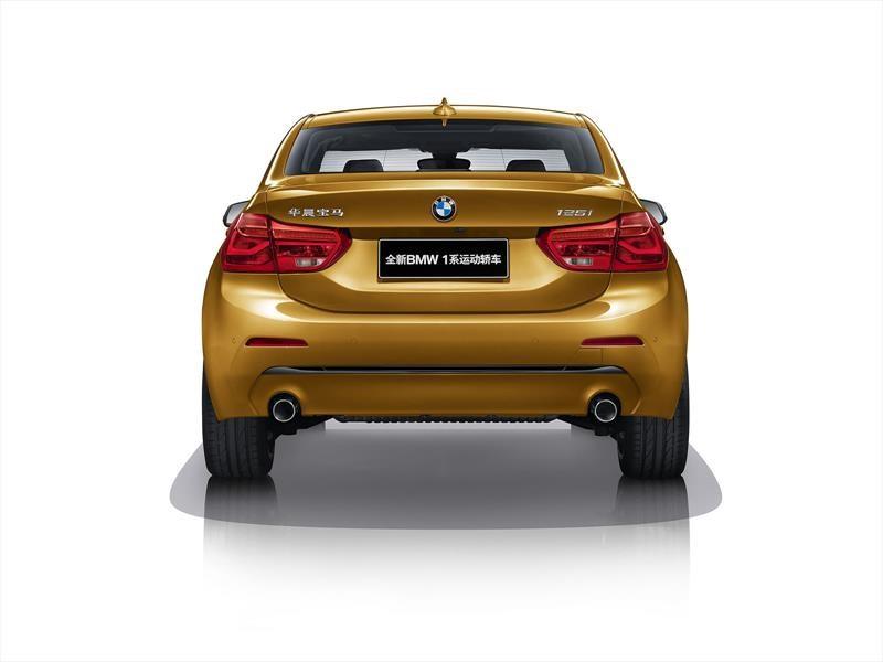 BMW Serie 1 Sedán se presenta