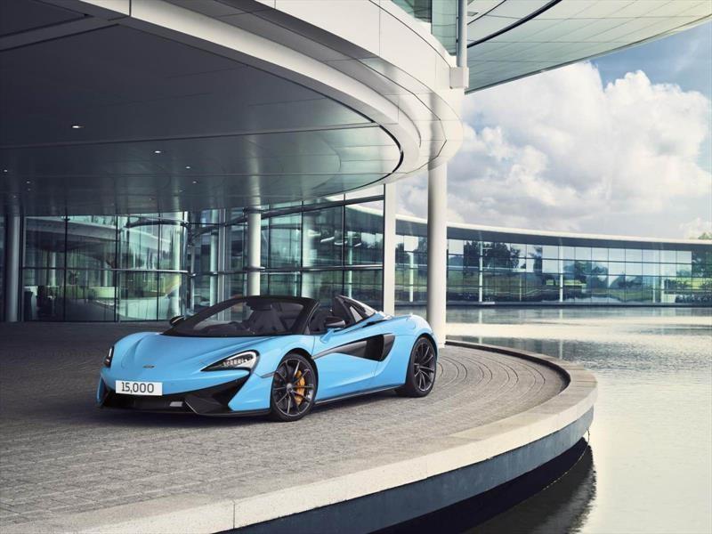 McLaren Automotive produce 15,000 unidades