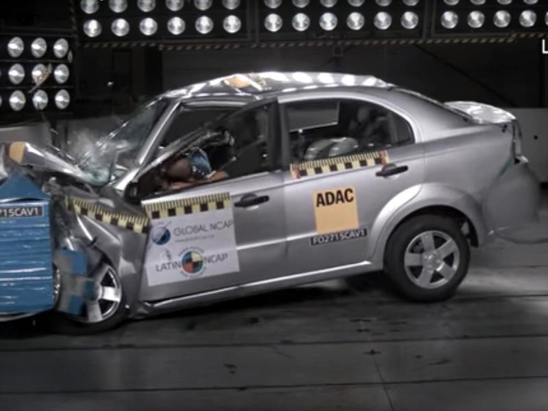 Chevrolet Aveo Obtuvo Cero Estrellas En Las Pruebas De Choque De