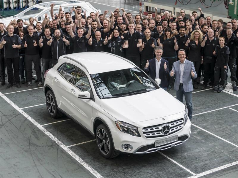 Mercedes-Benz GLA aumenta ritmo de producción