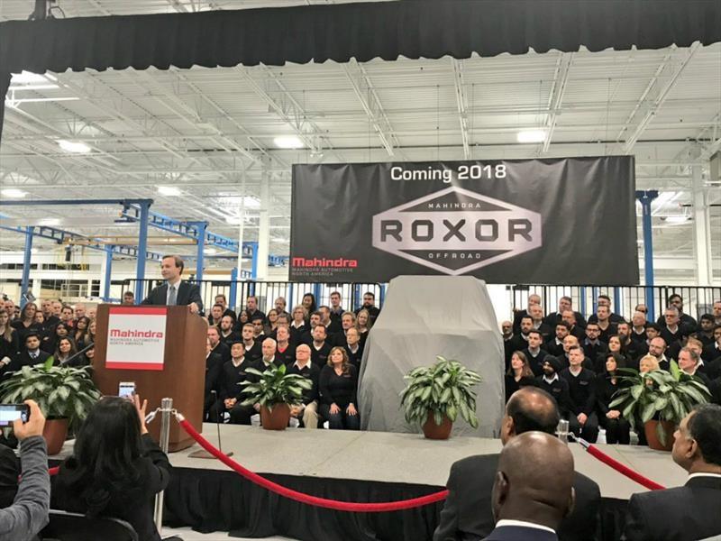 Mahindra inaugura planta en Detroit