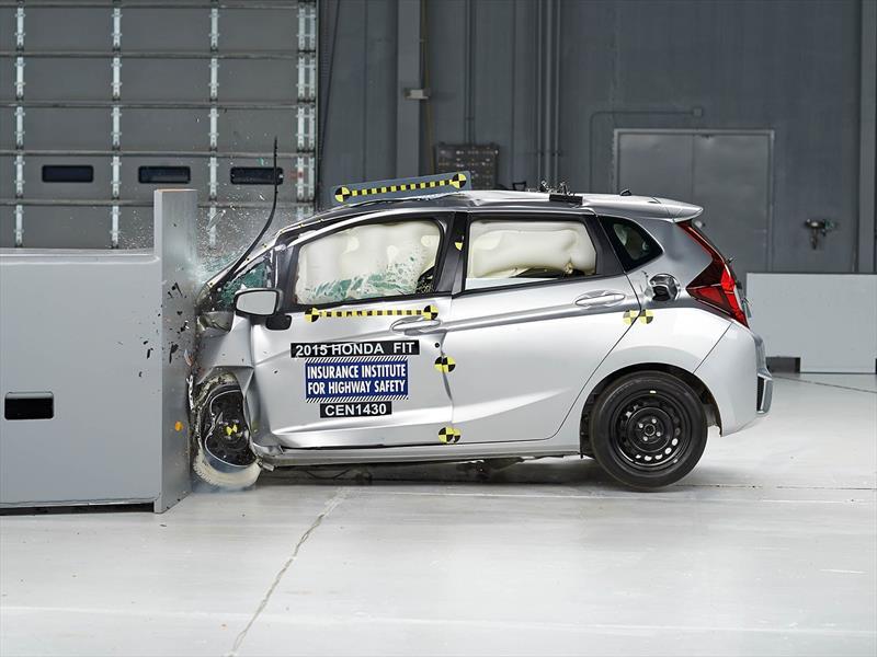 Honda Fit consigue las 5 estrellas en pruebas de la NHTSA