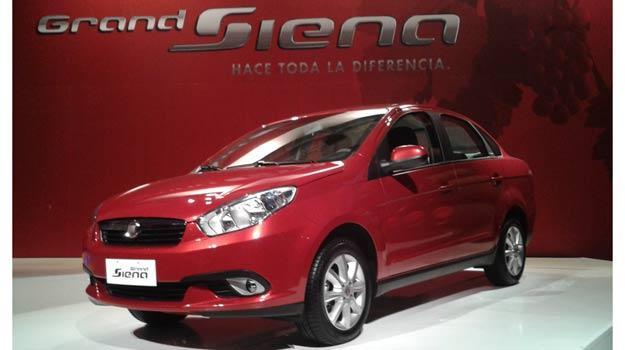 FIAT Grand Siena, presentación desde Chile, parte 2