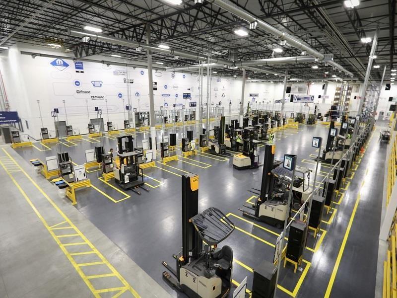 FCA inaugura nuevo Centro de Distribución de Partes Mopar