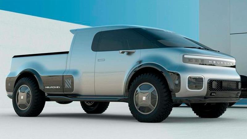 Neuron EV T-One es un pickup eléctrico con un estilo más atractivo que el Tesla Cybertruck