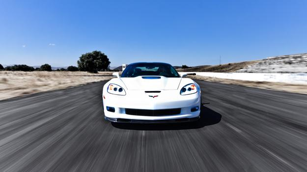 Chevrolet Corvette ZR1 a prueba