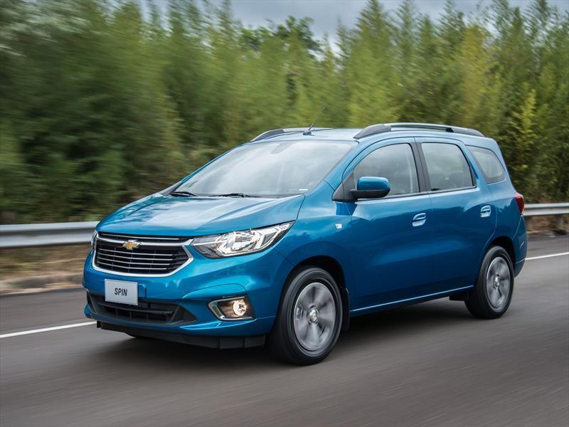 Chevrolet Spin se renueva en Argentina