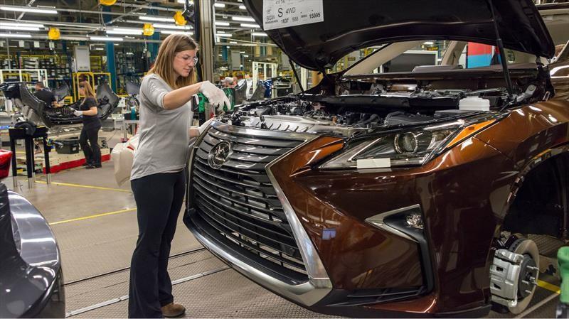 Lexus NX y NX Hybrid se fabricarán en Canadá