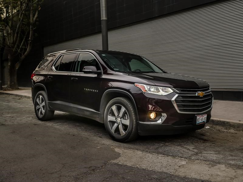 Manejamos el Chevrolet Traverse 2018