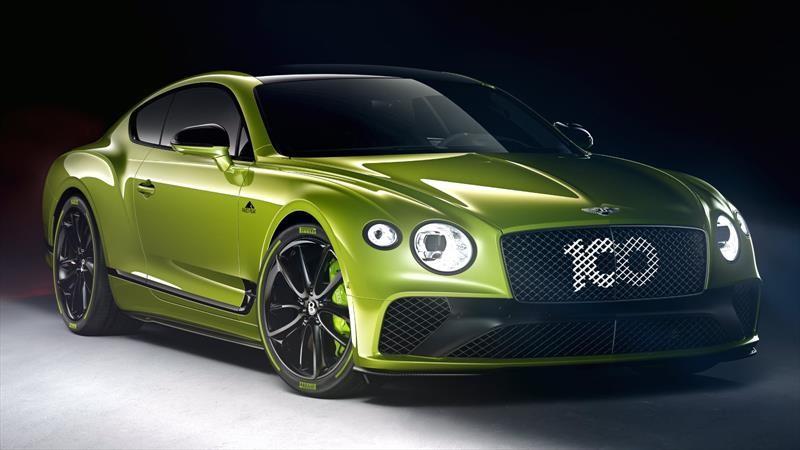 Bentley Limited Edition Continental GT celebra al auto de producción más rápido de Pikes Peak