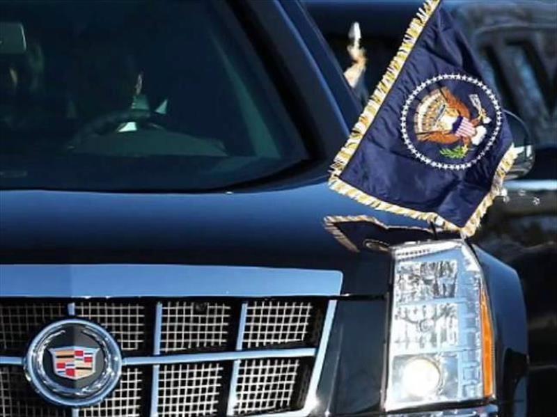 Trump tiene nueva limusina presidencial