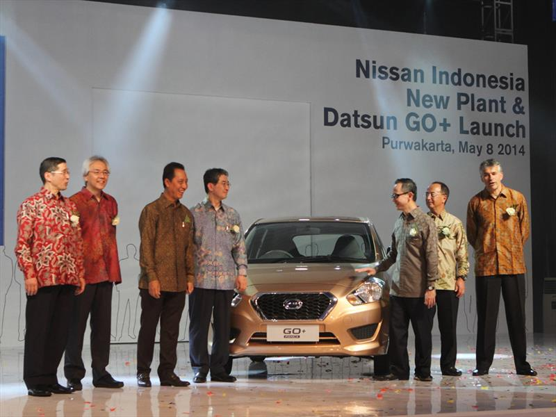 Nuevo Datsun GO+, para el mercado de Indonesia