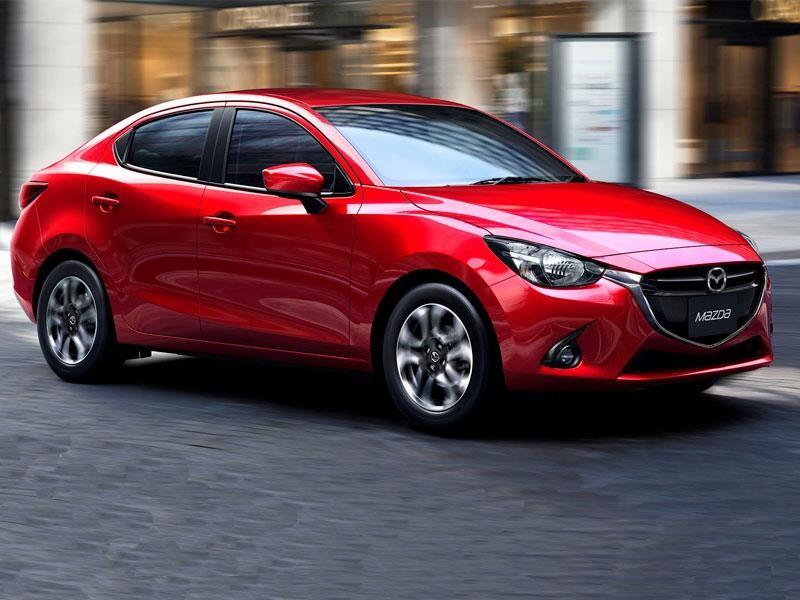Mazda 2 Sedán 2019 se presenta