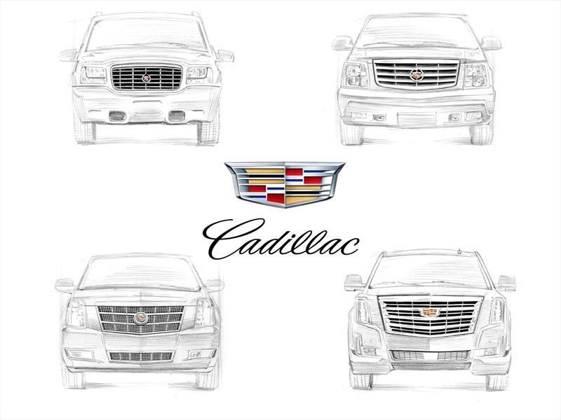 Cadillac Escalade y sus cuatro generaciones