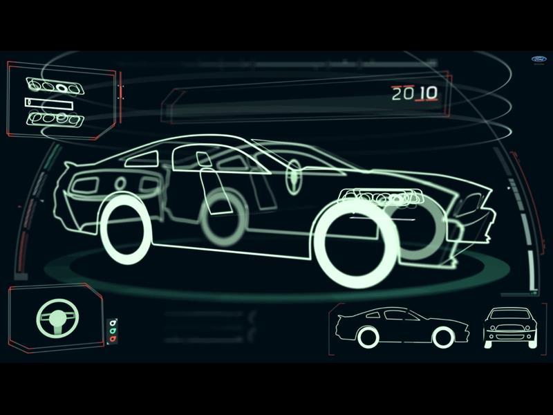 Video: Los 50 años del Ford Mustang en 1 minuto
