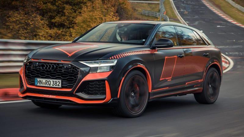 Audi RS Q8 se vuelve el SUV más rápido de Nurburgring