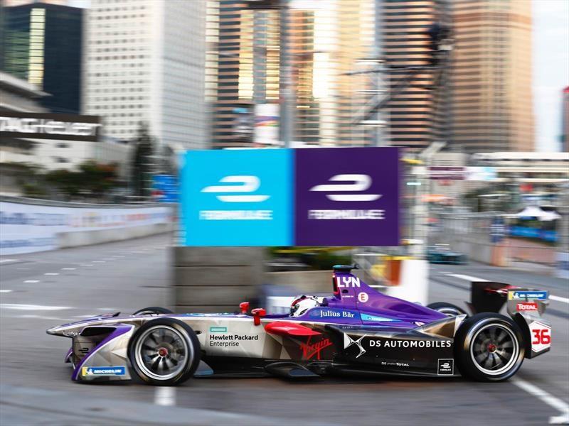 Fórmula E 2017-18: DS y Mahindra ganan en Hong Kong