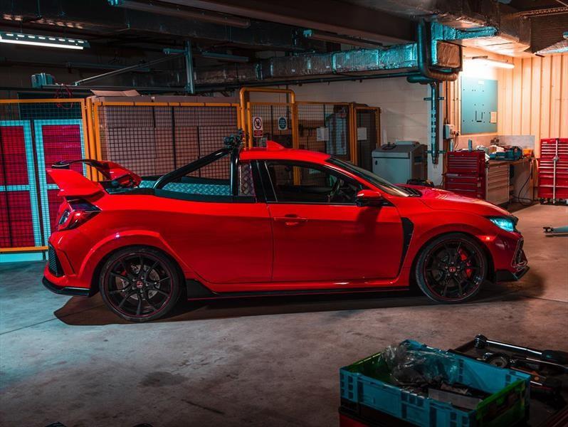 La camioneta Civic Type R de Honda no es una broma