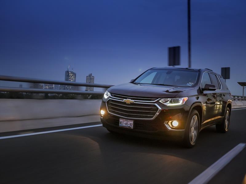 Chevrolet Traverse 2018 a prueba